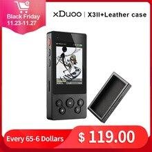 XDuoo X3II X3 ii hi fi odtwarzacz mp3 przenośny odtwarzacz mp3 bluetooth bezstratny odtwarzacz muzyki dsd hi res odtwarzacz bluetooth flac wav