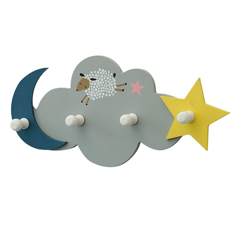 Cute Wall Hanging Decoration Hook Door Back Hanger Hook Home Decoration Accessories Creative Hat Hook