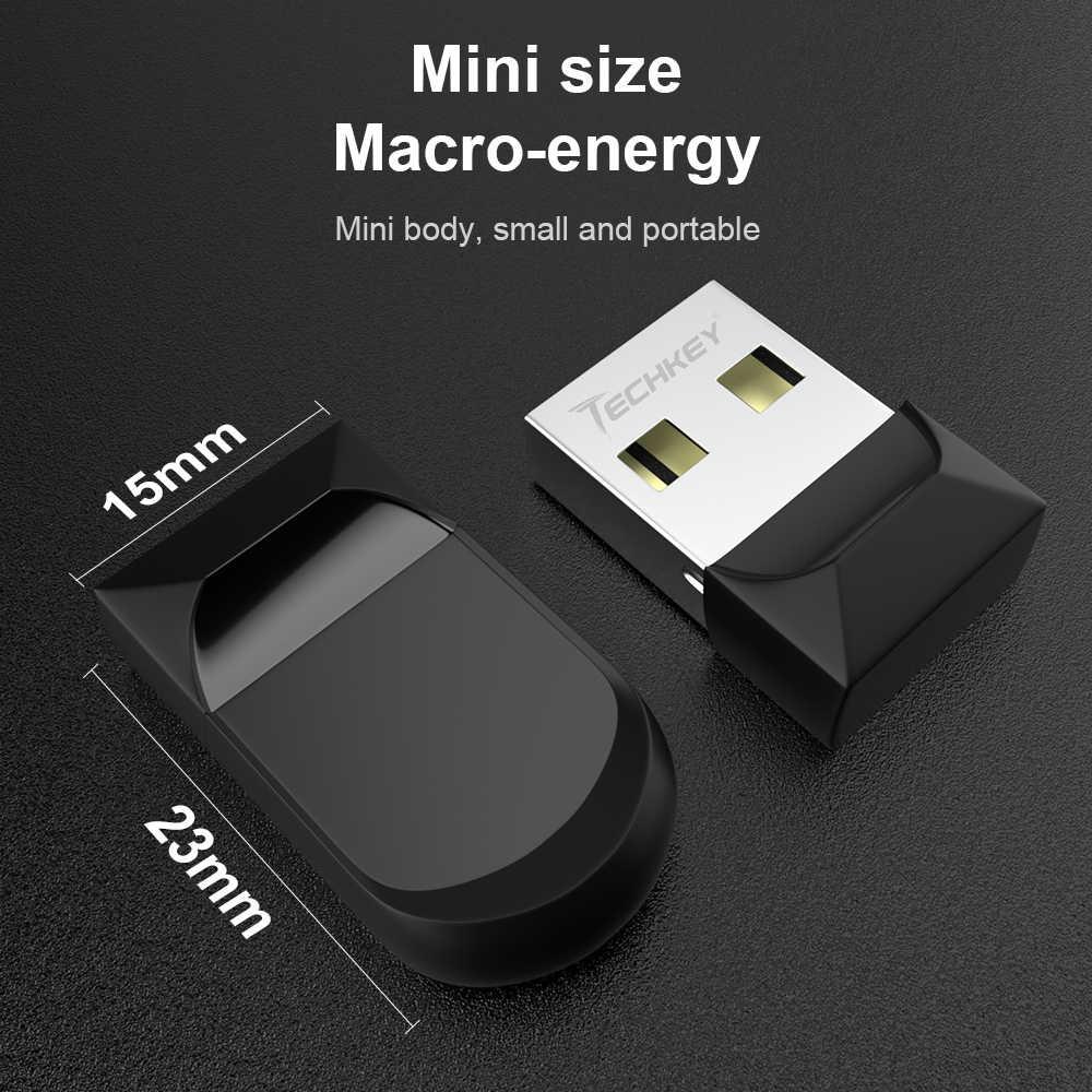Mới Siêu Mini Bút Nhỏ Pendrive Thẻ Nhớ Thiết Bị Lưu Trữ Bán Chạy Từ Đèn LED Cổng USB 8GB 16GB 32GB Chống Thấm Nước