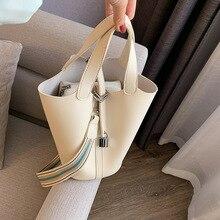 Sac à main seau en cuir pour femmes, sac à bandoulière de styliste, sacoche à épaule de grande capacité, Fashion, nouvelle collection 2020