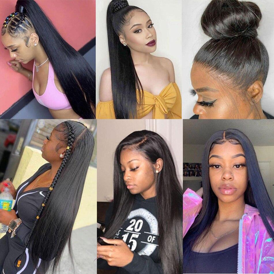 Hot DealsÍAatifa Hair-Bundles Closure Straight Brazilian