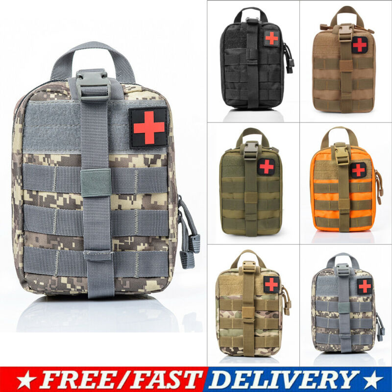 Essential First Aid Kit For Outdoor Bulk Storage Of Medical Supplies 900D Tactical First Aid Kit Survival EDC Molle EMT Bag