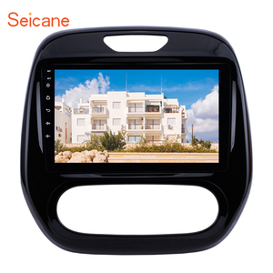 """Image 1 - Seicane Android 10.0 9"""" 2din Car Auto Radio For  Renault Captur CLIO Samsung QM3 Manual A/C 2011 2016 GPS Navigation with WIFI"""