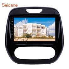 "Seicane Radio con GPS para coche Renault Captur CLIO, Samsung QM3, Android 10,0, 9 "", 2DIN, A/C, 2007 2012, navegación GPS con WIFI"