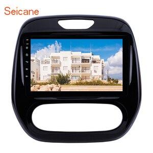 Image 1 - Seicane autoradio Android 10.0, Navigation GPS, WIFI, manuel A/C (2011 2016), 2din, pour voiture Renault Captur CLIO, Samsung QM3