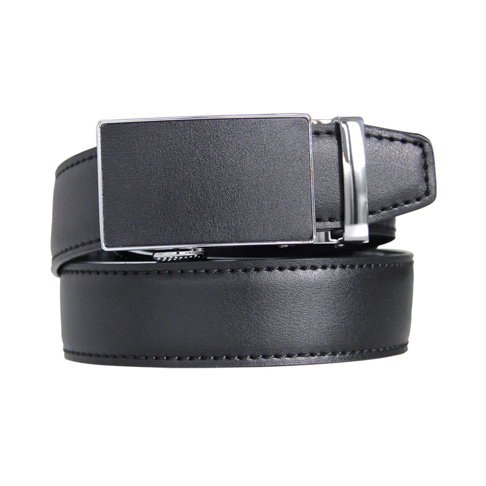 Mens High Quality Genuine Leather Belt-Ratchet Automatic Buckle Men Belt Popular Business Casual Male Belts Luxury Free Shipping