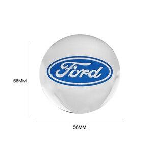 4 шт. Центральная втулка колеса автомобиля крышки эмблемы наклейки для Ford Escape Kuga Mondeo Ecosport Fiesta Фокус Fusion Ranger|Наклейки на автомобиль|   | АлиЭкспресс