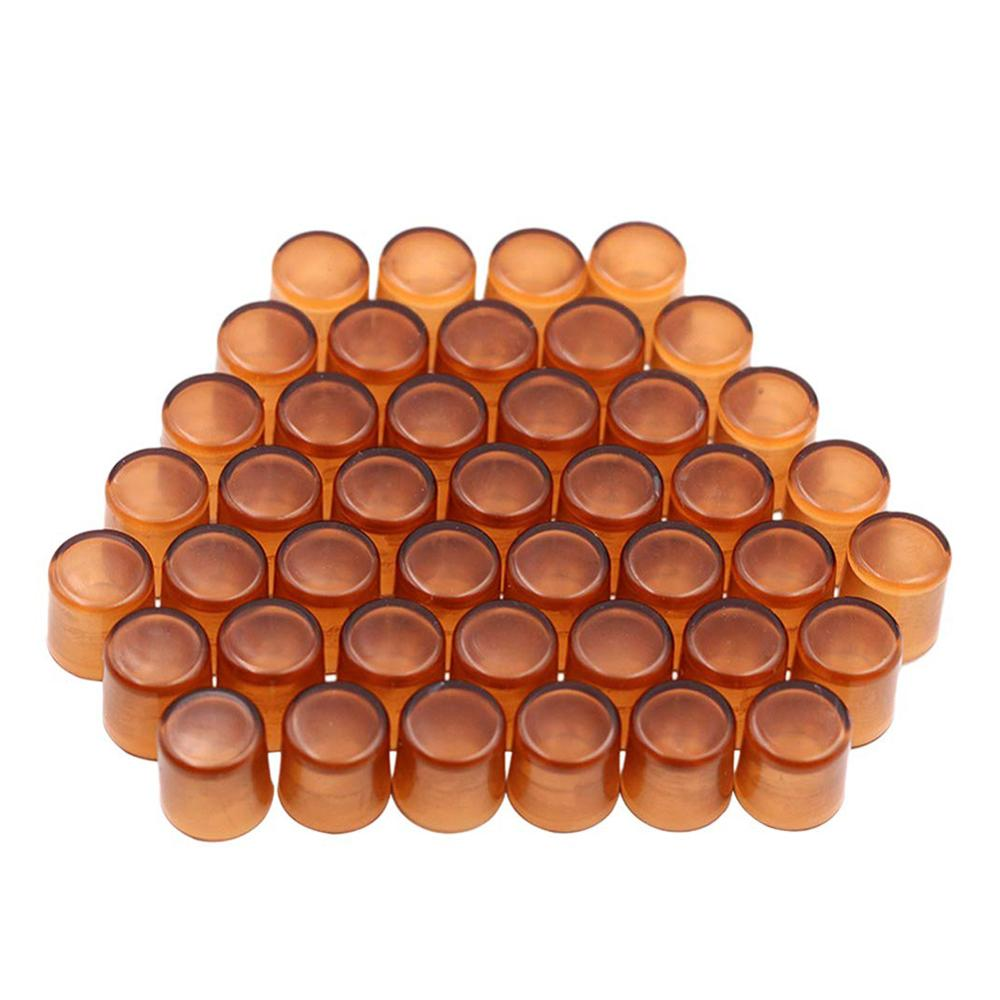 240Pcs Beekeeping Queen Cell Cup Bee Foundation Beekeeping Tools Brown Bee Queen Rearing Cell Cups Plastic Incubation