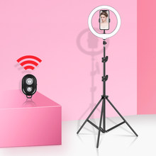 10inch/26cm Video Light Dimmable LED Selfie Ring Light Photography Ring lamp with Tripod Stand For Youtube Makeup Video