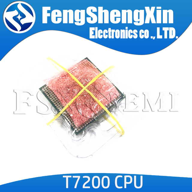 T7200 7200 sl9sf cpu 4m socket 479 (cache/2.0ghz/667/duplo-núcleo) processador portátil