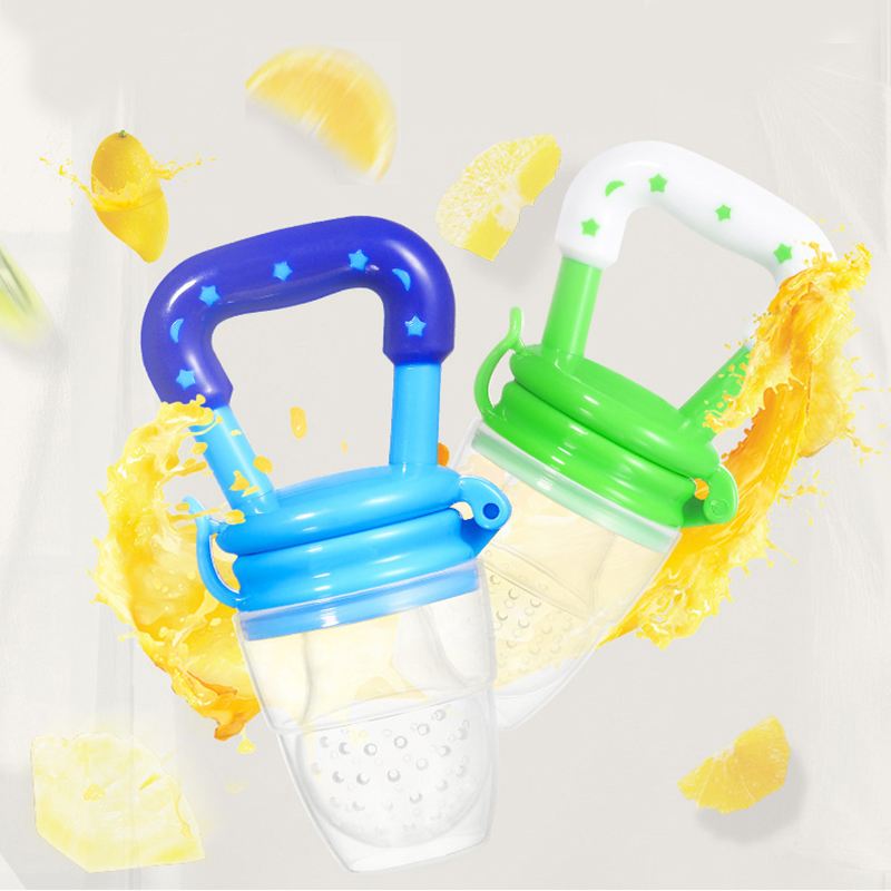 1Pc Food Grade Fruits Nipple Teether BPA Free Silicone Baby Toys Teethers Pacifier Chain Pendant Safety Baby Reborn Teething Toy