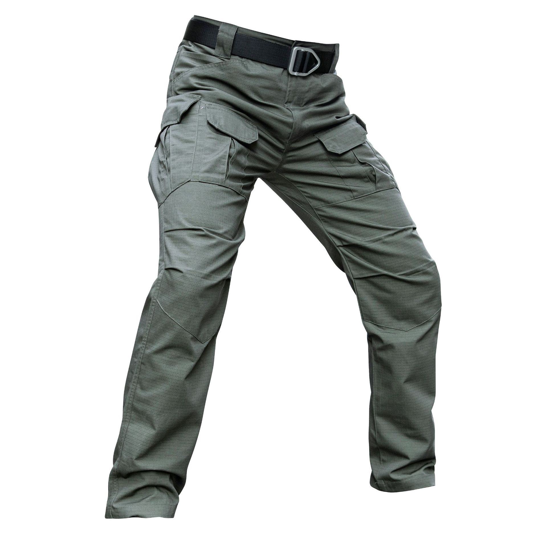YEVHEY IX8 Cotton Waterproof Tactical Cargo Pants Mens Casual Pants Trousers Army Military Women Pants Moto Biker Safari Men