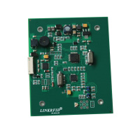 Small HF 13.56mhz ISO15693 PCB RFID integrated Reader ISO14443A for card printer issuance machines
