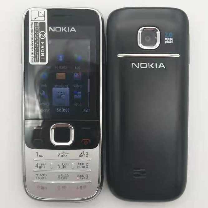 2730 מקורי טלפון נוקיה 2730 זול טלפונים סמארטפון GSM WCDMA 3G טלפון עם מקלדת רוסית משלוח חינם