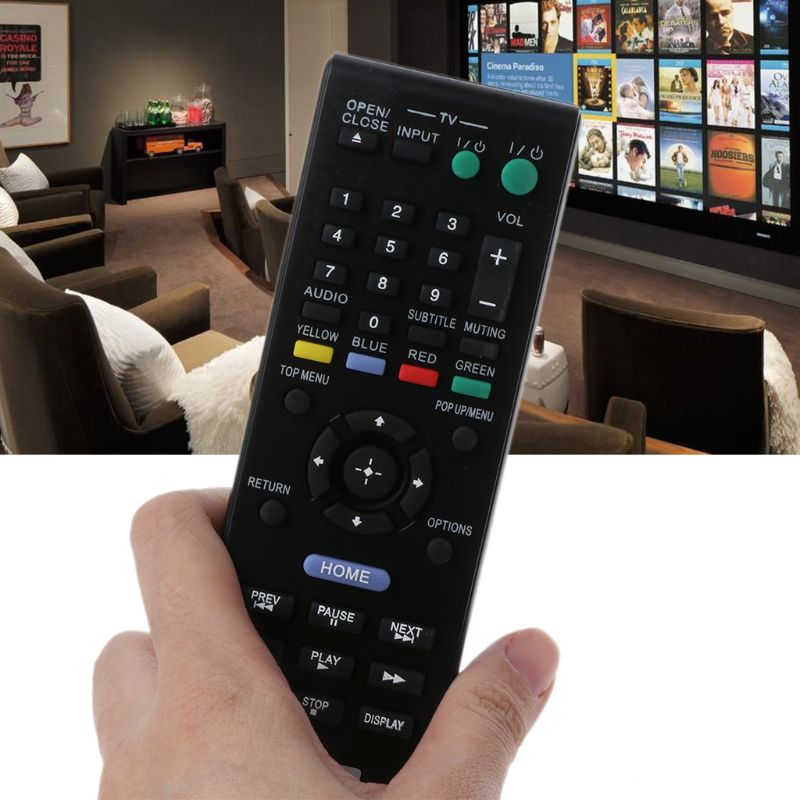 Replacement Remote Control for Sony Blu-ray Disc Player BDP-S790 BDPS790