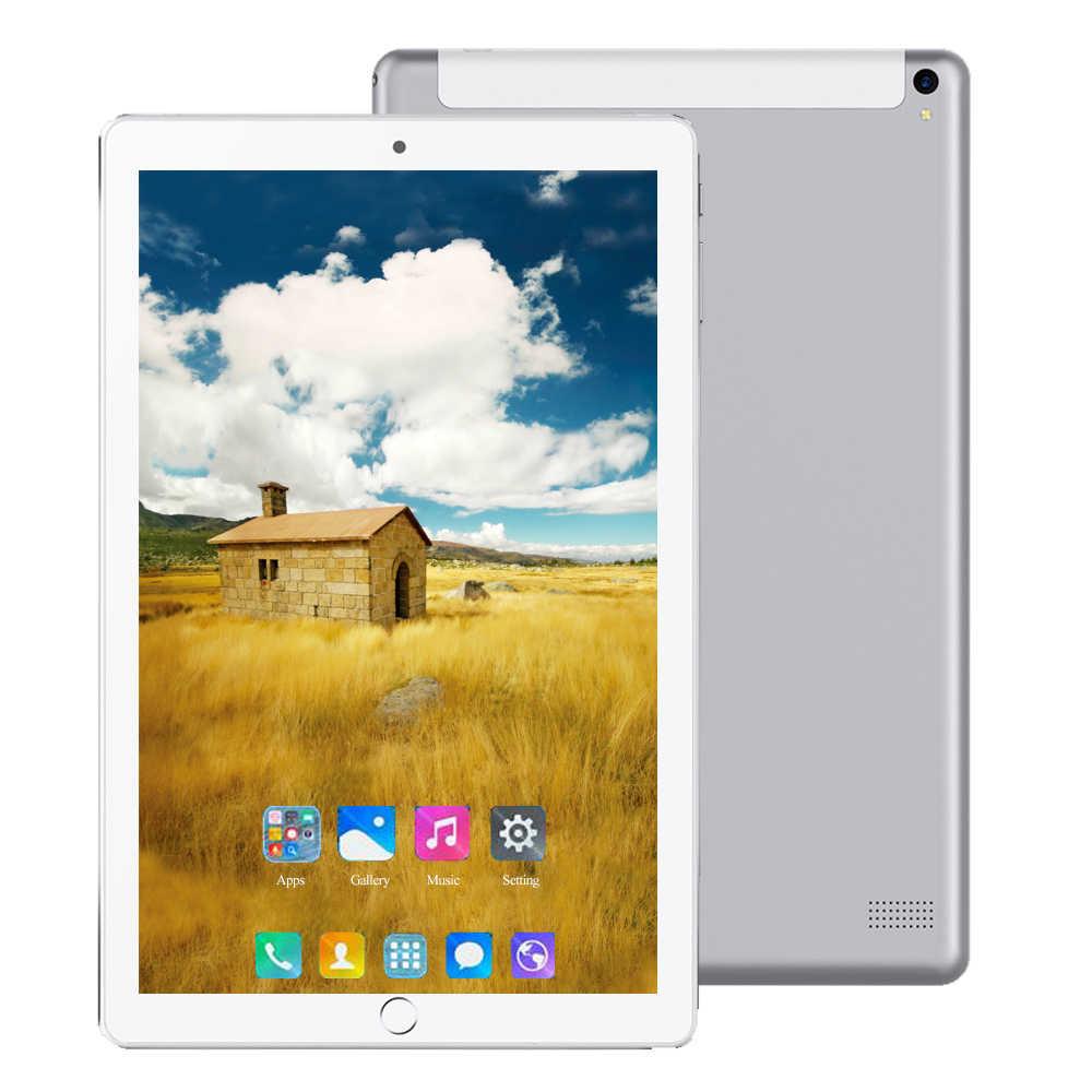 2020 küresel 10 inç çift Sim 4G LTE Tablet PC Deca çekirdek 6GB RAM 64GB 128GB ROM 1280*800 IPS 5000mAh Android 8.0 tabletler 2020