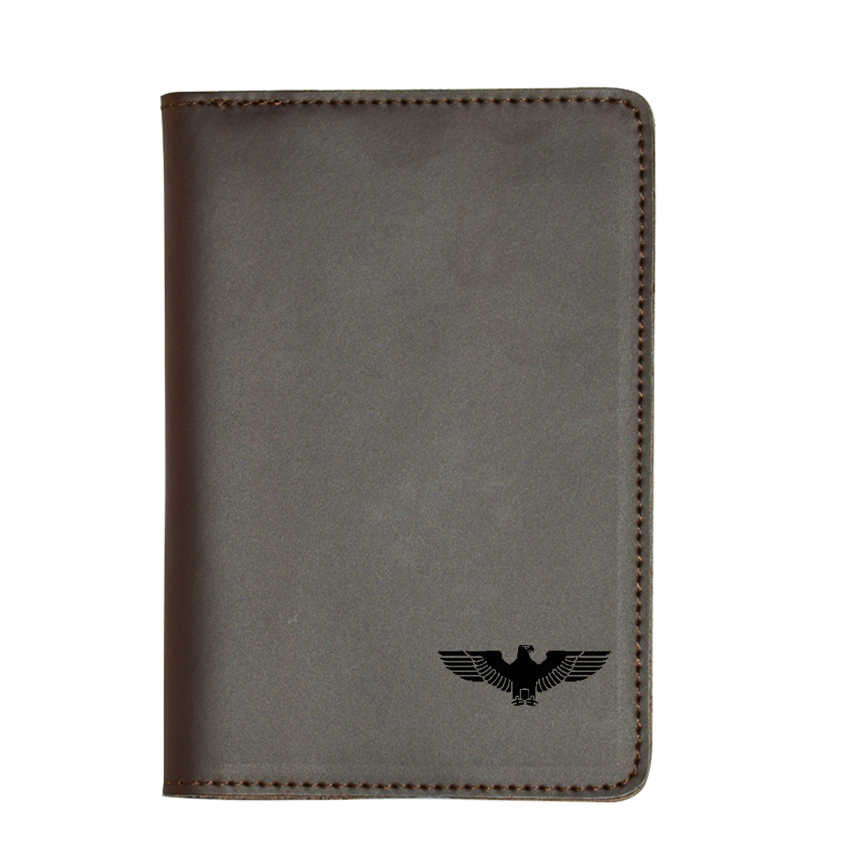 New Travel Cover Case German Eagle Passport Cover Credit Card Holders Wallet Leather Passport wallets