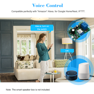 Image 4 - Tuya wi fi interruptor módulo de relé sem fio single way avançando cronometragem app controle remoto controle de voz para o google casa & amazon alexa