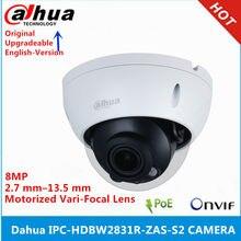 Dahua IPC-HDBW2831R-ZAS-S2 8MP 2.7 milímetros-13.5mm Lente zoom Motorizado built-in Slot Para Cartão SD de Áudio interface de Alarme IR 60M câmera poe
