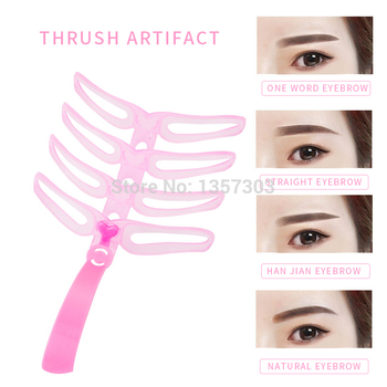 1pc eyebrow shaping eyebrow card threading artifact card thrush thrush auxiliary card eyebrow mold makeup beauty eyebrow tool