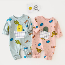 EnkeliBB New Born Baby Spring Autumn Long Sleeve Romper Cute