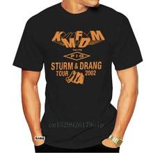 KMFDM PIG Crew Tour T Shirt RARE 2002 Vintage Reprint Men Cotton T-Shirt Printed T Shirt Top Tee Men Summer Short Sleeves 5231A