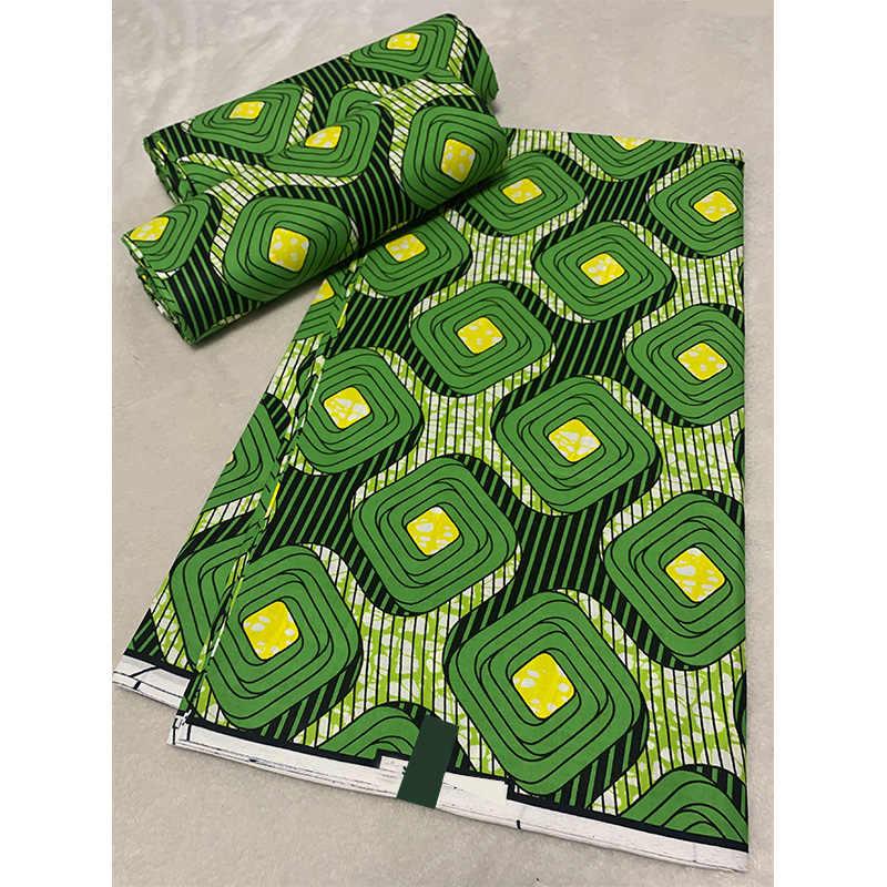 Grote Cirkel Ontwerp Ankara Real Wax Print Nigeria 100% Katoen Afrikaanse Wax Print Stof Hoge Kwaliteit Voor Vrouwen Jurk Deel 1