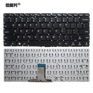 Nuevo teclado de EE. UU. Para Lenovo yoga 310S-14 310S-14ISK 510S-14ISK 510S-14IKB 510-14AST 510S-14 teclado de ordenador portátil de EE. UU. Retroiluminado