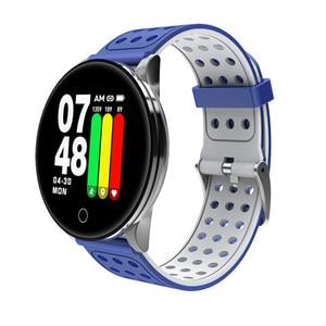 Image 4 - Reloj inteligente W8 con pantalla de latido del corazón, pronóstico del tiempo, reloj inteligente de Fitness, recordatorio, pulsera inteligente bluetooth a prueba de agua pk Q8 Q9