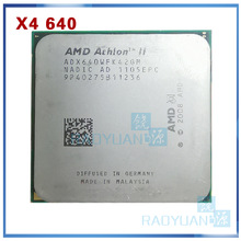 AMD Athlon II X4 640 3 GHz Quad-Core CPU procesador ADX640WFK42GM hembra AM3