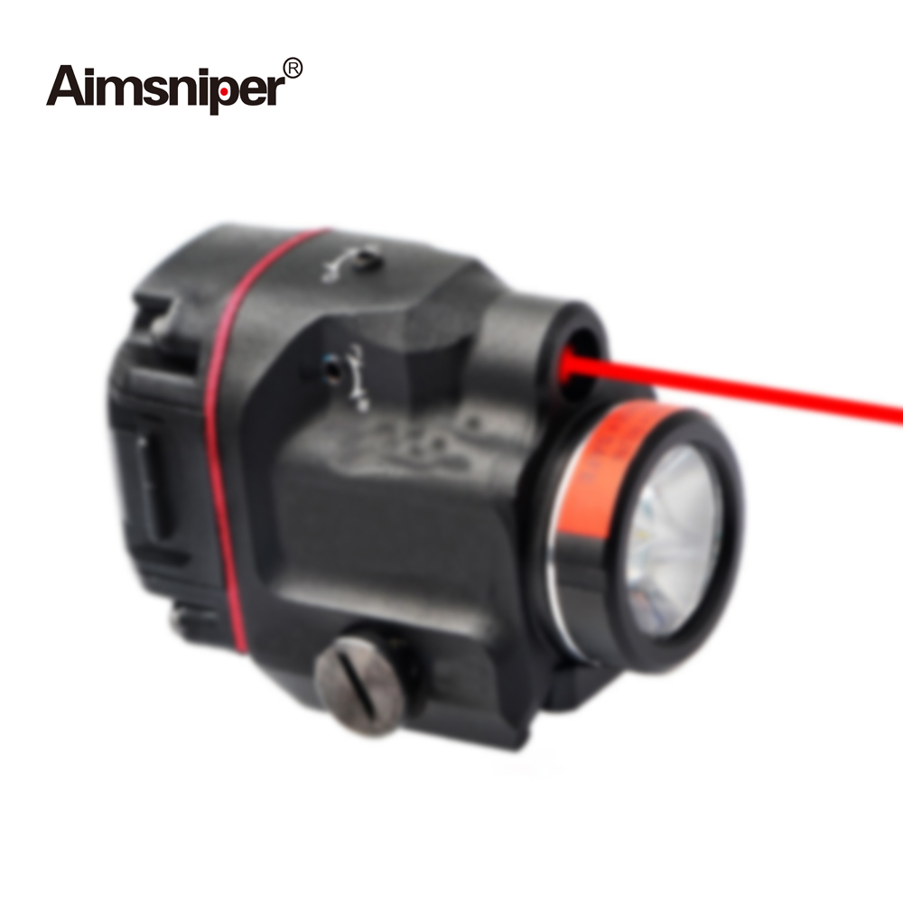 Tactical Tlr Weapon Light LED With Red Green Laser Sight Hunting Gun Flashlight Laser For Rifle Scope Pistol Glock 17 19 SIG CZ-1