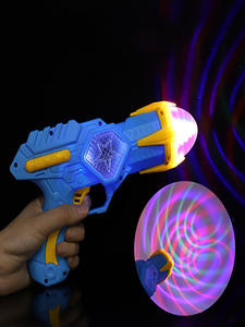Cool-Lighting Toy-Gun Music Electric Kids Projection Outdoor-Products Shining Children's