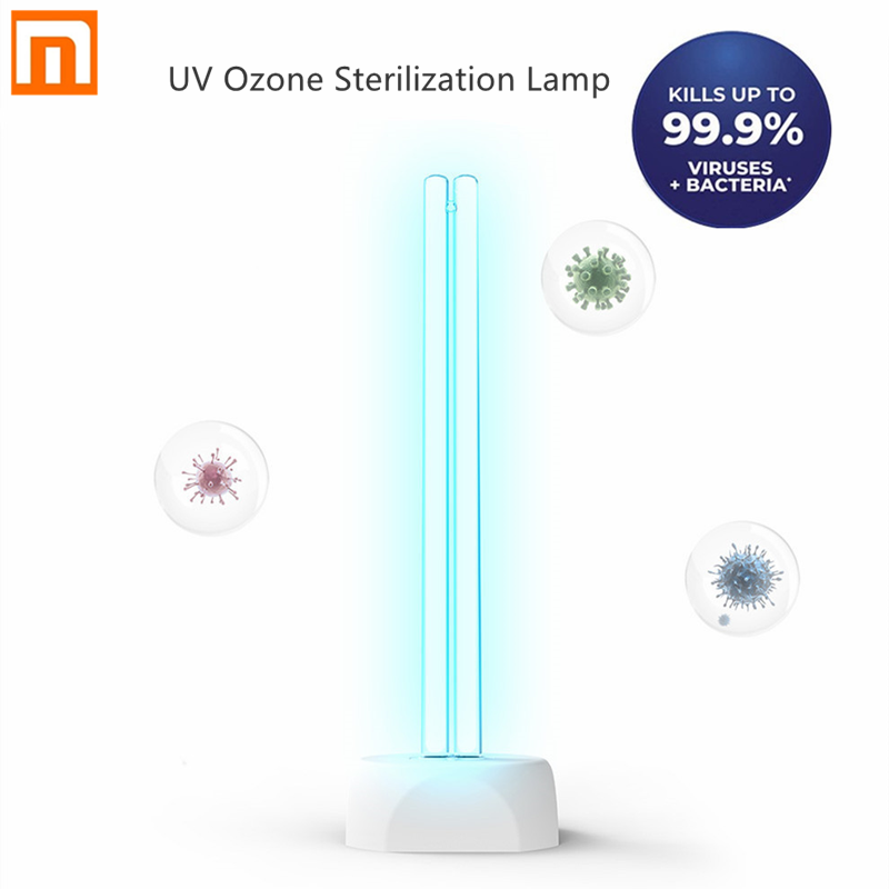 Xiaomi Huayi 38W Household UV Ozone Sterilization Lamp Dual Light Tube Ultraviolet Germicidal Disinfection Table Lamp 40㎡ Area