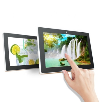 15.6 inch Wall mount tablet 1920*1080 Full HD touch screen monitor all in one with DC power for business and office