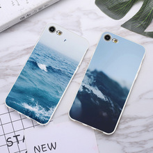 Phone Case Coque For iPhone xr 7 8 6 6S Plus xr XS MAX 5 5S Mountains Oceans Beaches Soft TPU Phone Cover For iPhone 8 7 Plus цена 2017