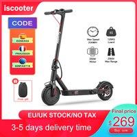 EScooter-patinete eléctrico plegable para adultos, Scooter de 25 km/h, 8,5 pulgadas, 350W, 7,5ah, neumático potente