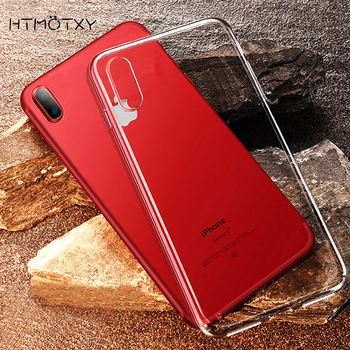 Transparent Ultra Slim Soft Silicone TPU Phone Case Funda For iphone SE 2020 9 12 11 Pro XR X XS Max 7 8 6 Plus Clear Back Cover image