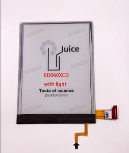 ED060XCD 100% new eink LCD Display screen with backlight no touch for ebook readers free shipping(China)
