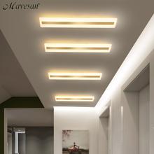 Akrylowe przedpokoju led lampy sufitowe do salonu Plafond home sufitowa lampa oświetleniowa homhome oprawy oświetleniowe nowoczesny balkon tanie tanio CUOSHE ROHS CN (pochodzenie) 20 Metrów 10-15square KİTCHEN 90-260 v Klin Ironware + Akryl Dotykowy włącznik wyłącznik