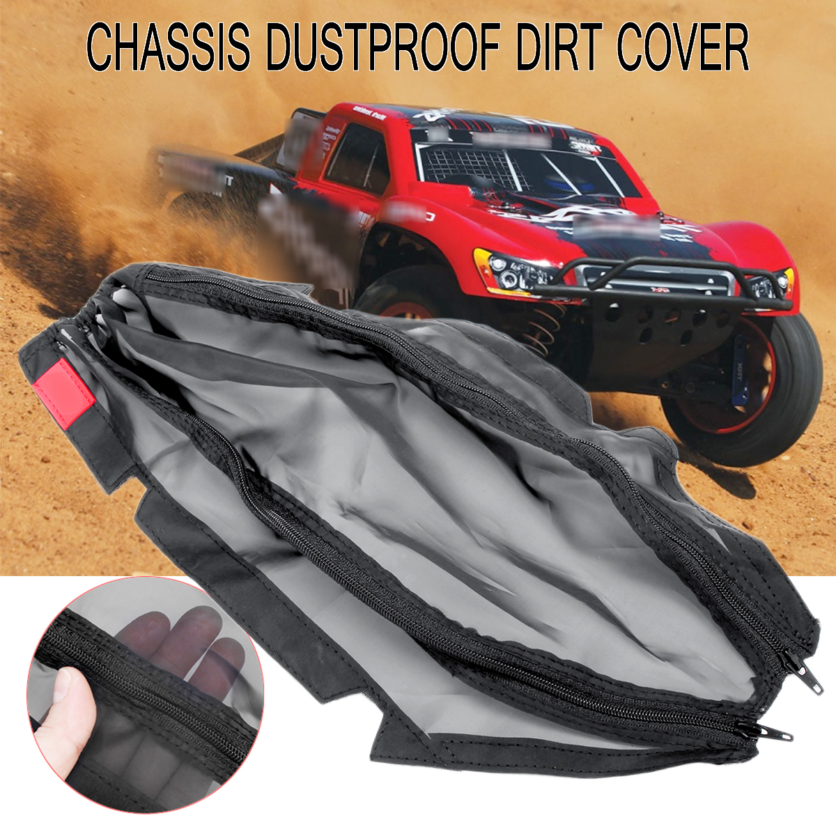 1//10 Rally Slash 4x4 LCG chassis dust resist dirt guard cover for Traxxas