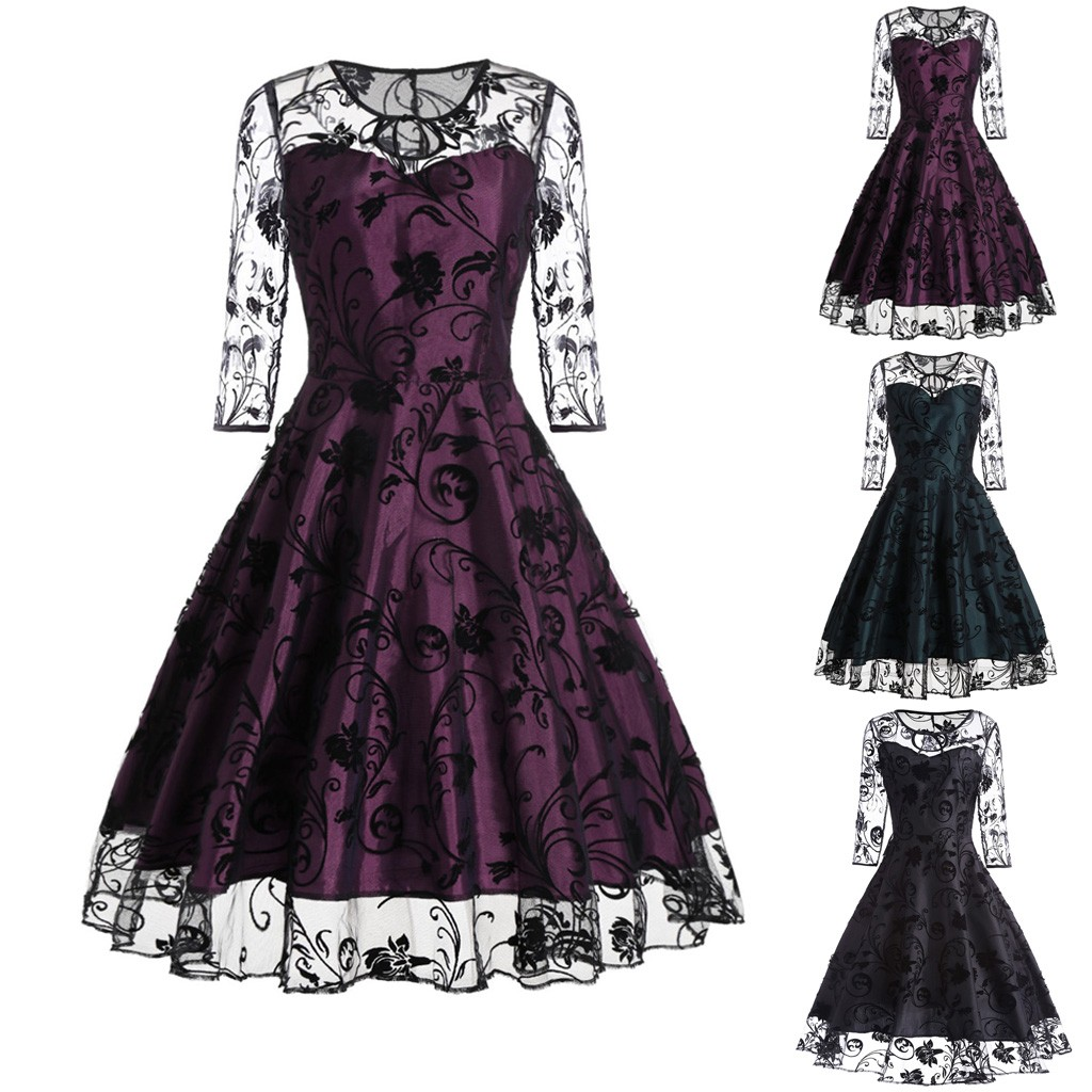 Women <font><b>Halloween</b></font> <font><b>Dress</b></font> Women <font><b>Sexy</b></font> Lace Half Sleeve Bodycon Cocktail Party Pencil <font><b>Dress</b></font> Mini <font><b>Dresses</b></font> vestidos image