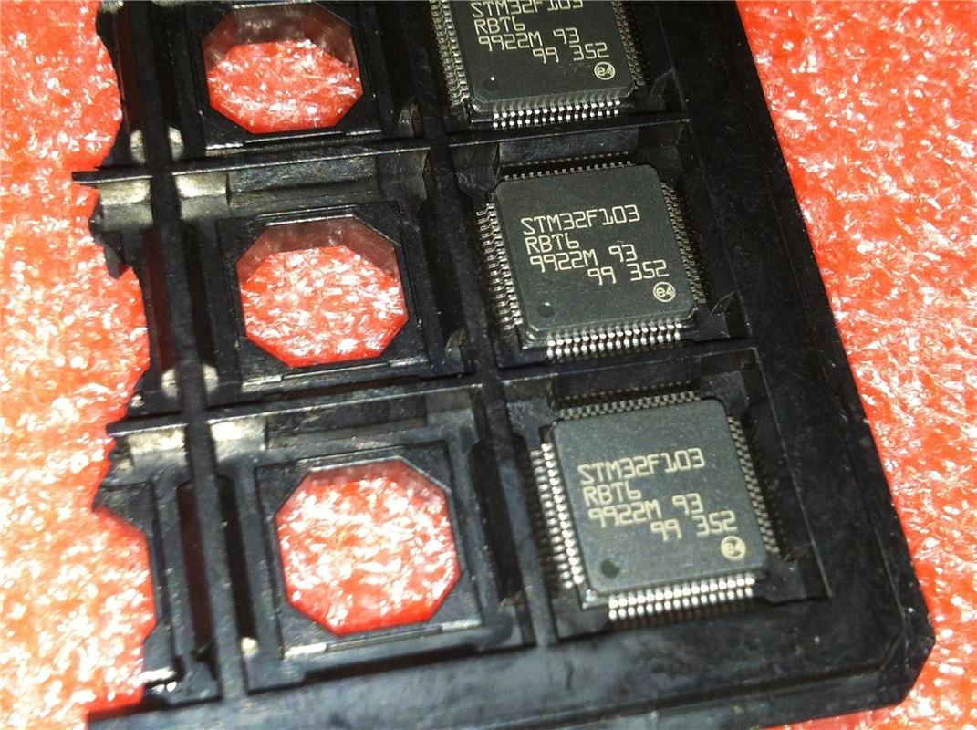 1 шт./лот STM32F103RBT6 STM32F103 LQFP-64 в наличии