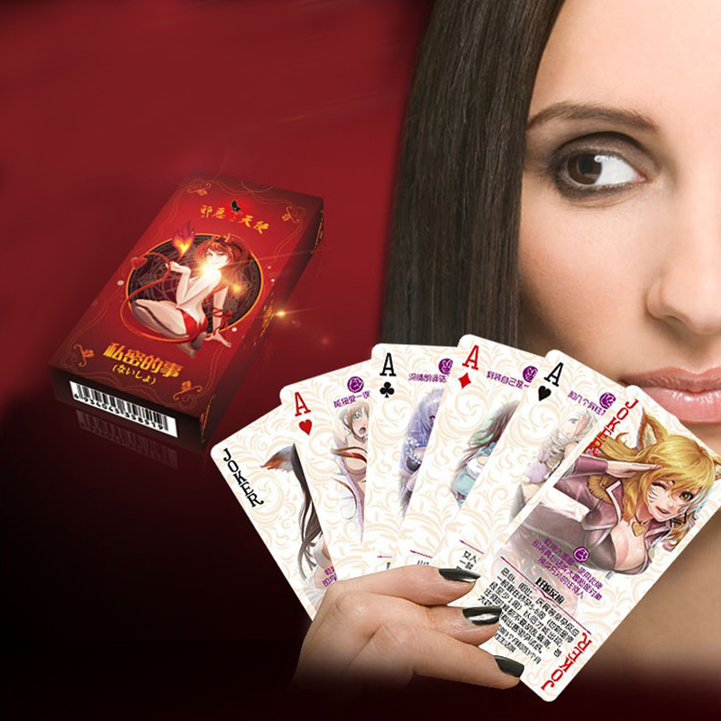Adult sex card games