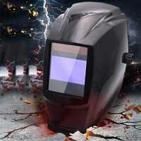 Auto Verdunkelung Pretective Schleifen Schutz HD Helm 4 Arc Sensor Portable Professional Schweißen Solar Objektiv Langlebig Filter