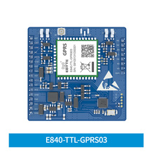 E840 TTL GPRS03 GPRS โมดูลการส่งผ่านแบบโปร่งใส Quad Band AT Command GSM ไร้สาย MICRO SIM card holder