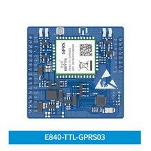 Módulo de E840 TTL GPRS03 GPRS, Quad Band de transmisión transparente al mando, transmisor inalámbrico GSM, soporte de tarjeta MICRO SIM