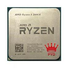AMD Ryzen 5 2600X R5 2600X 3.6 GHz sześciordzeniowy dwunastogwintowy procesor CPU YD260XBCM6IAF gniazdo AM4