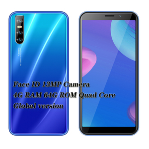 F2 Pro quad core smartphones 5MP+13MP Global 6.0inch 4GB RAM 64GB ROM face ID unlocked mobile phones android cheap celulares 3G