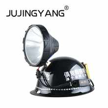 High quality ABS xenon headlights aluminum helmet headlight strong light long-range IP65 waterproof HID headlamp - DISCOUNT ITEM  30% OFF Lights & Lighting