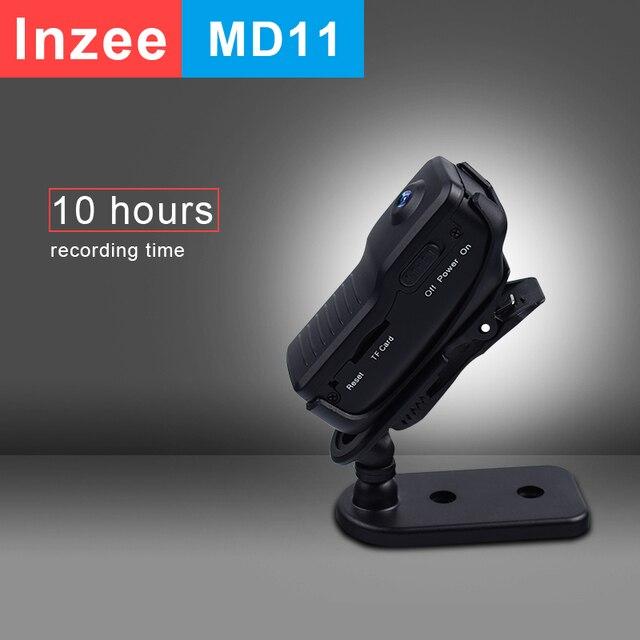 Мини камера MD11, мини видеокамера, DVR, Спортивная видеокамера, экшн камера DV, видео, голос, длительная запись, 10 часов, поддержка 32 ГБ